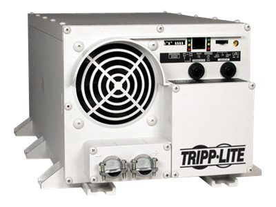 Tripp Lite PowerVerter RV Inverter Charger 1000 Watt 12VDC to 120VAC, Isobar Surge Protection, UL Listed