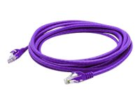 ACP-EP CAT6A UTP Snagless Patch Cable, Purple, 15ft