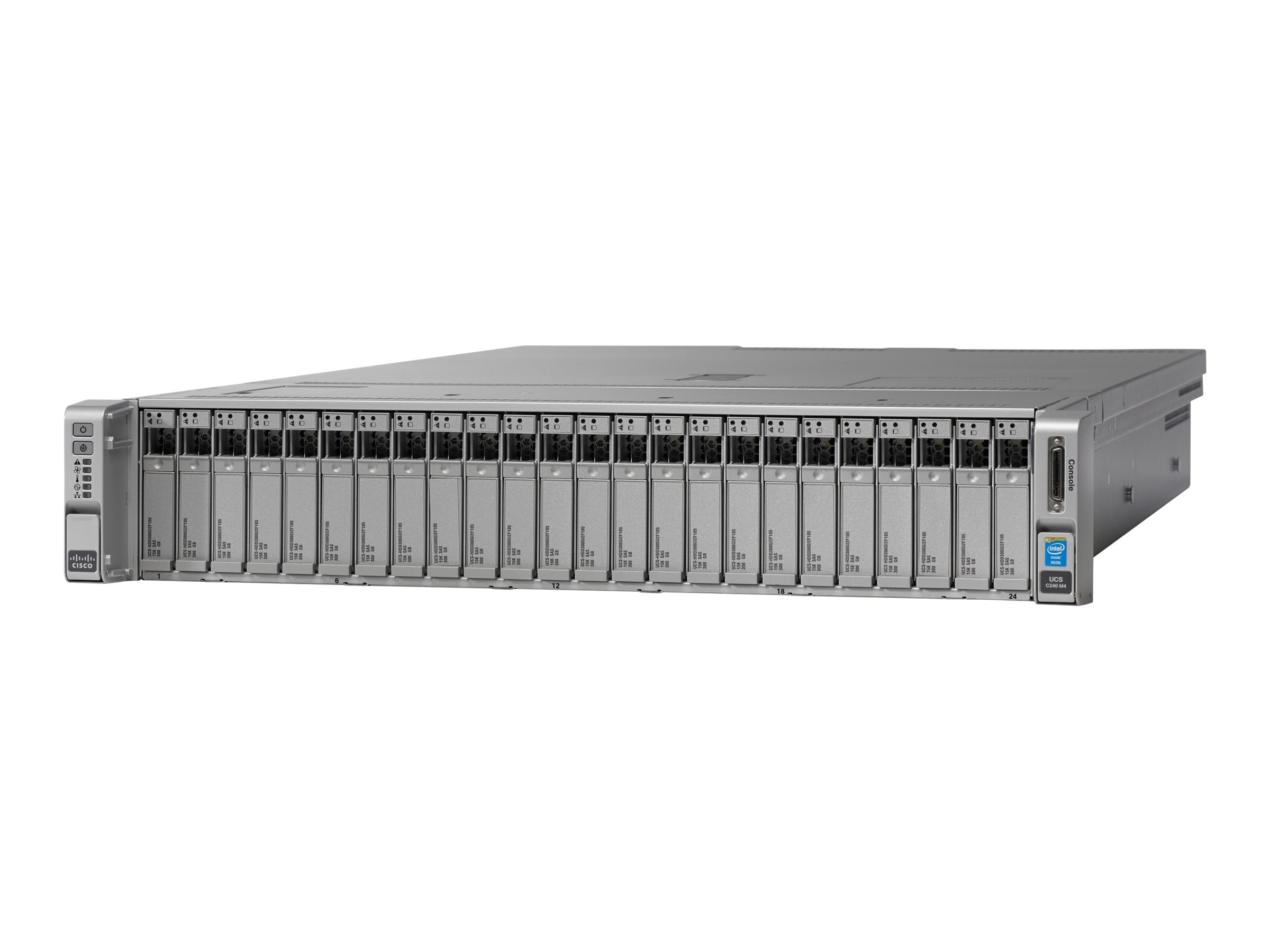 Cisco UCS C240 M4S Xeon E5-2650 v4 32GB MRAID 32GB SD 1x1200W Rails, UCS-SPR-C240M4-BA1