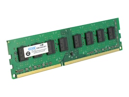 Edge 4GB PC3-10600 240-pin DDR3 SDRAM UDIMM, PE223953, 10927758, Memory