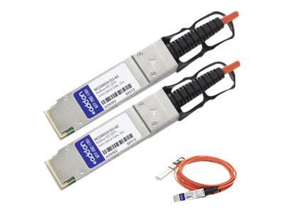 ACP-EP 40GBASE QSFP+ Active Optical Cable, 15m, MC2206310-015-AO