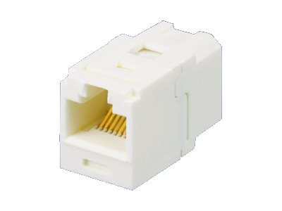 Panduit Mini-Com Cat6 Coupler, White, CC688IW