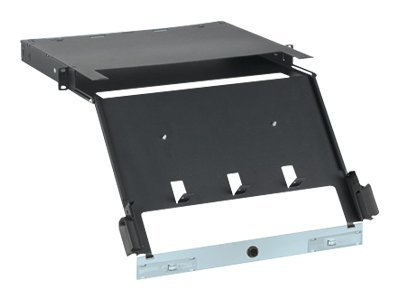 Open Box Panduit QuickNet Rack Mount Fiber Cassette Enclosure 1U, FCE1U, 18953900, Rack Mount Accessories