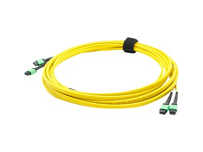ACP-EP Fiber SMF Trunk 24 2MPO x 2MPO Female Type A OS1 Cable, 5m, ADD-TC-5M24-2MPF1