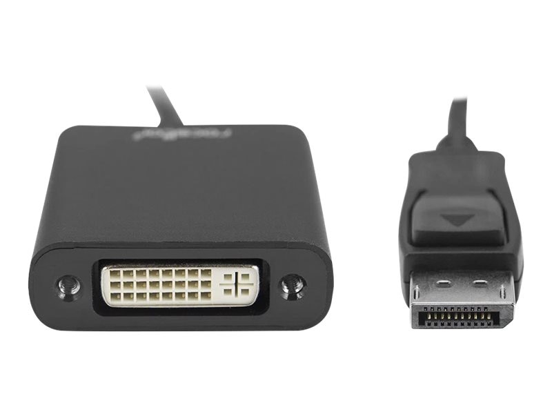 RocStorage DisplayPort to DVI M F Adapter, Black