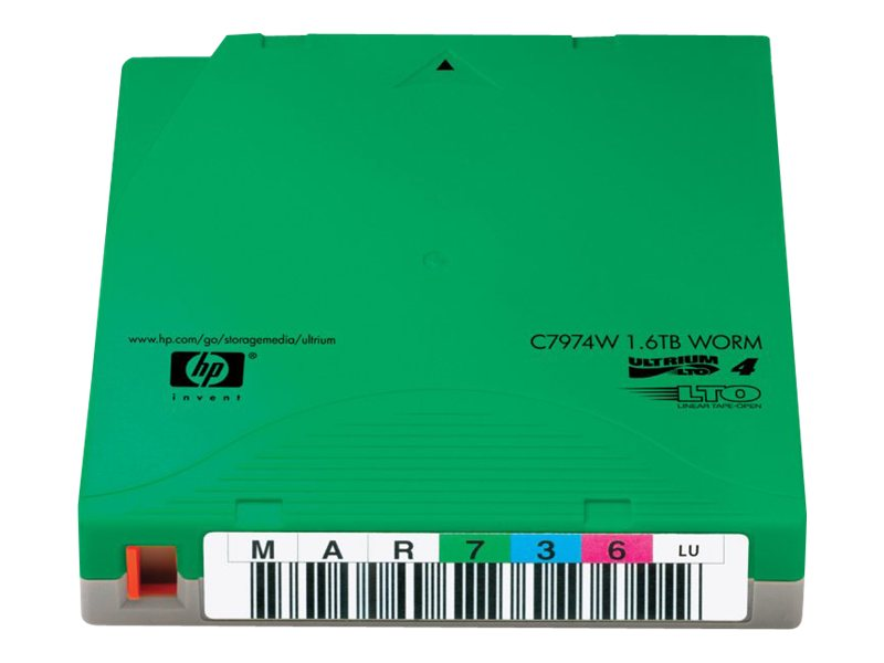 HPE LTO-4 WORM Custom Labeled Tape Cartridges (20-pack)