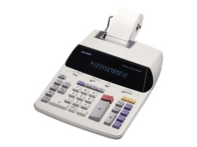 Sharp EL-2192RII AC-Powered Two Color Printing Calculator, EL2192RII, 6519823, Calculators