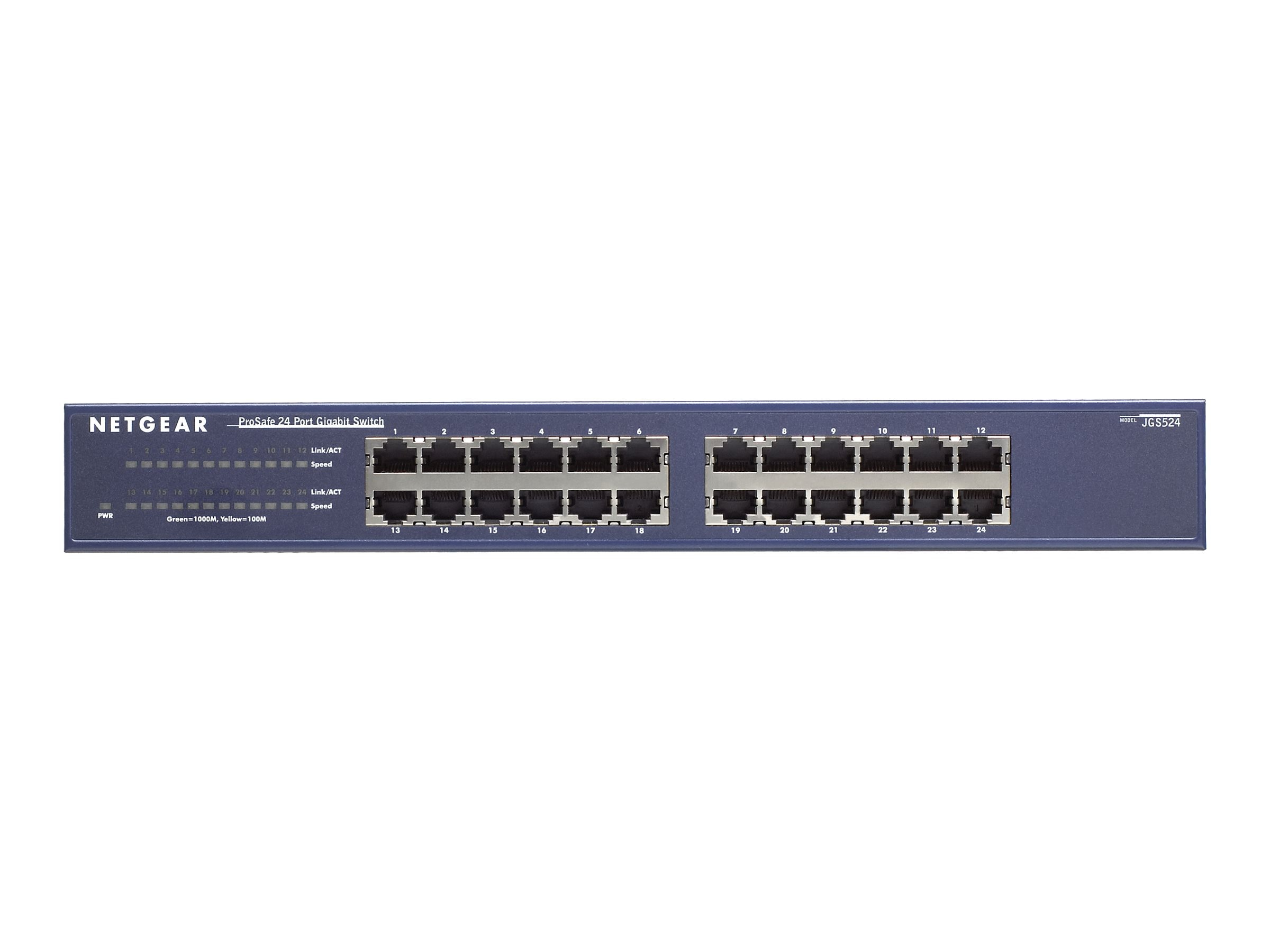 Netgear 24-port Gigabit Ethernet Switch, JGS524NA
