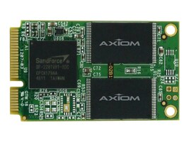 Axiom 480GB Signature III mSATA 6Gb s Async Internal Solid State Drive, SSDMO3A3480-AX, 15296967, Solid State Drives - Internal
