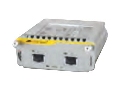 Allied Telesis DUAL 10 GIGABIT COPPER(10GBASET), AT-XEM-2XT, 16604589, Network Transceivers