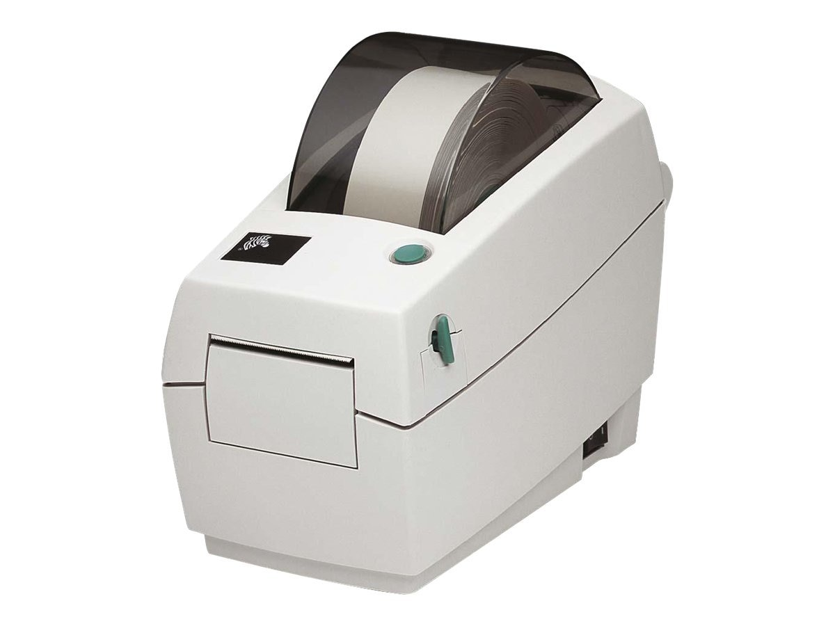 Zebra LP2824 Plus 203dpi DT EPL ZPL USB Ethernet Printer w  Power Supply, Dispenser & Peeler