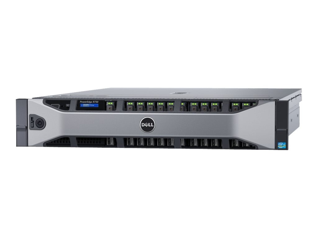 Dell PowerEdge R730 Xeon E5-2620 v3 16GB H330, 463-3996, 18235043, Servers