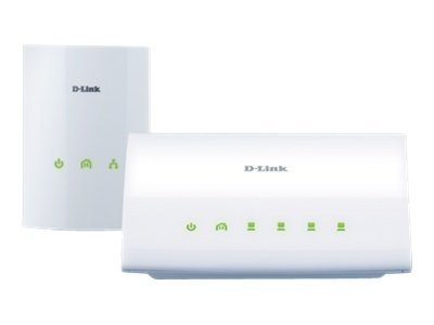 D-Link PowerLine AV 4-Port Switch Kit, DHP-347AV