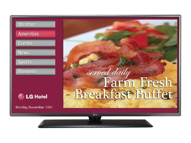 LG 31.5 LY570H LED-LCD TV, Black, 32LY570H, 17495530, Televisions - LED-LCD Commercial