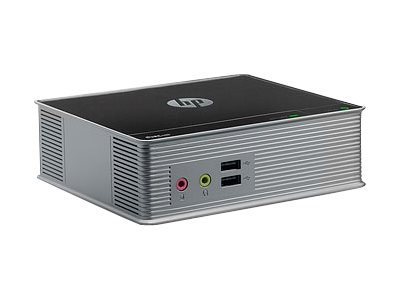 HP Smart Buy t310 Zero Client TERA2321 512MB RAM 256MB Flash 100Mbps Fiber PCoIP, C9X11AT#ABA, 16215428, Thin Client Hardware
