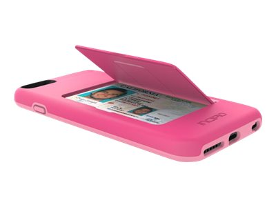 Incipio Stowaway Case for iPhone 6 Plus, Pink