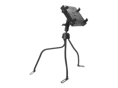 Ram Mounts Universal No-Drill RAM POD III Vehicle Mount with Double Socket Arm, 2 2.5 Round Bases