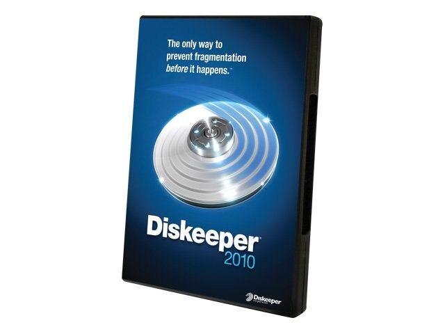 Condusiv Corp. VLA Diskeeper 2010 Server Single License, 168234, 11777430, Software - Network Management