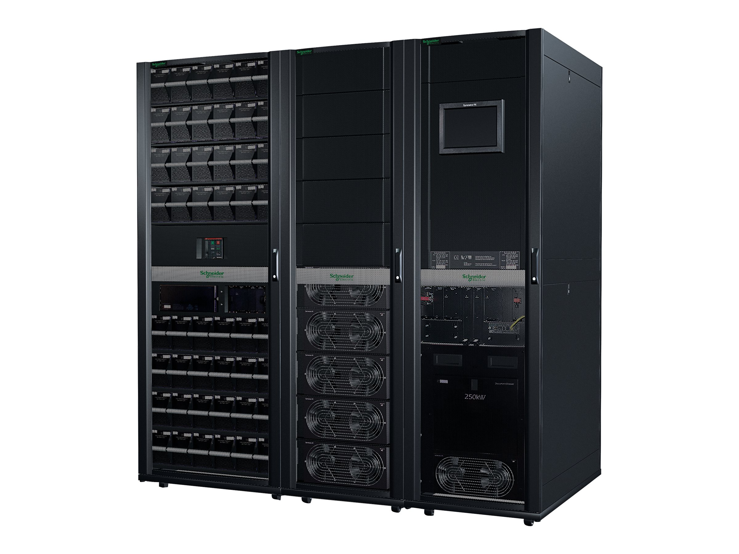APC Symmetra PX 125kW Scalable to 250kW w o Maintenance Bypass or Distribution, Parallel Capable, SY125K250D, 13666119, Battery Backup/UPS