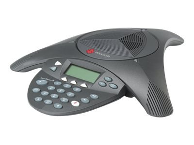Polycom SoundStation 2 Analog Conference Phone with Caller ID, 2200-16000-001
