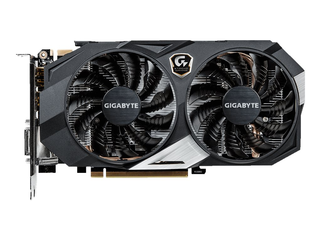 Gigabyte Tech GeForce GTX 950 PCIe 3.0 Overclocked Graphics Card, 2GB GDDR5, GV-N950XTREME-2GD
