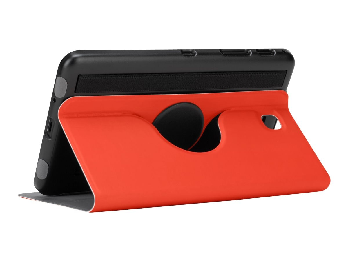 Targus Custom Fit 360 Rotating Case for Tab 4 7, Red, THZ54301US