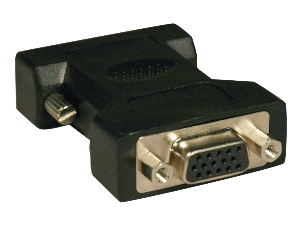 Tripp Lite DVI-A Analog to VGA M F Adapter, Black
