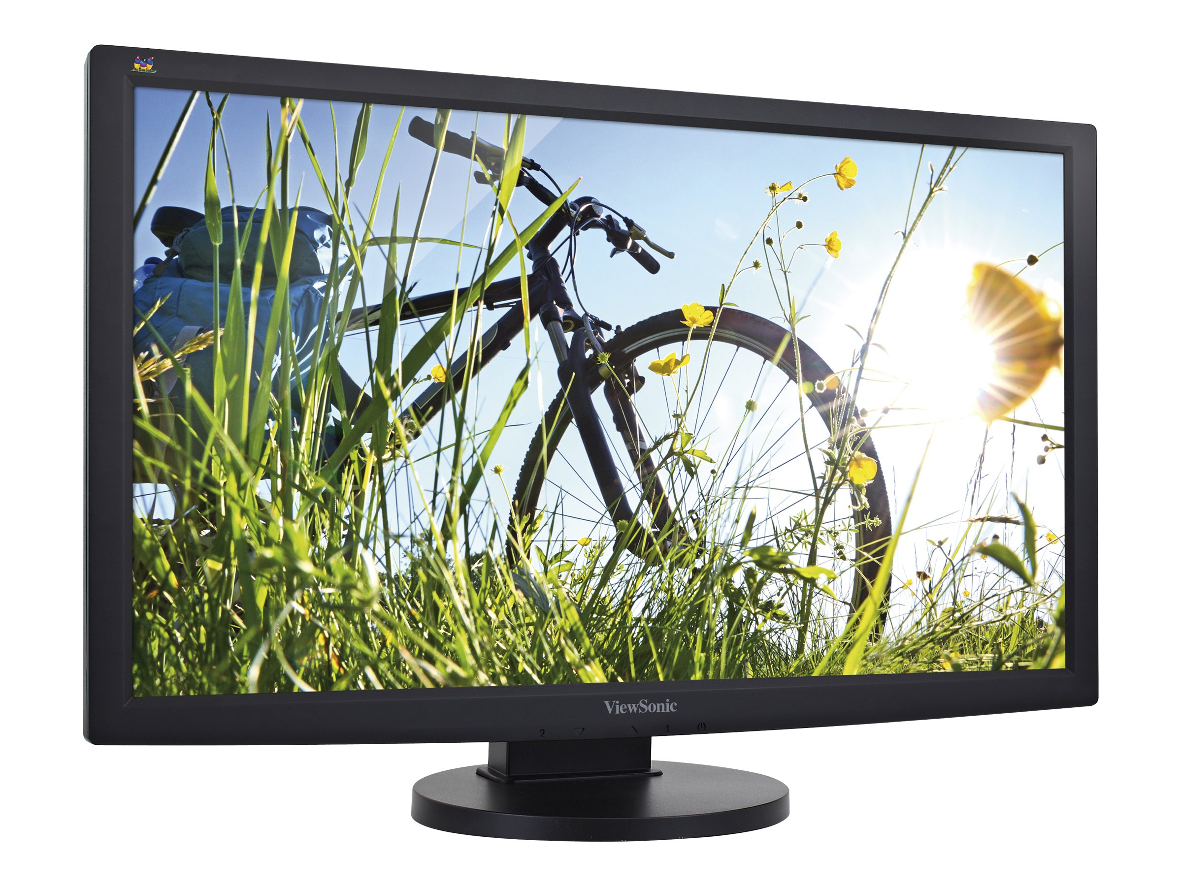 ViewSonic 23.6 VG2433SMH Full HD LED-LCD Monitor, Black, VG2433SMH