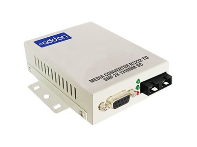 ACP-EP Media Converter RS232 To MMF 2 1310NM SC, ADD-RS232-SC, 16222951, Network Transceivers