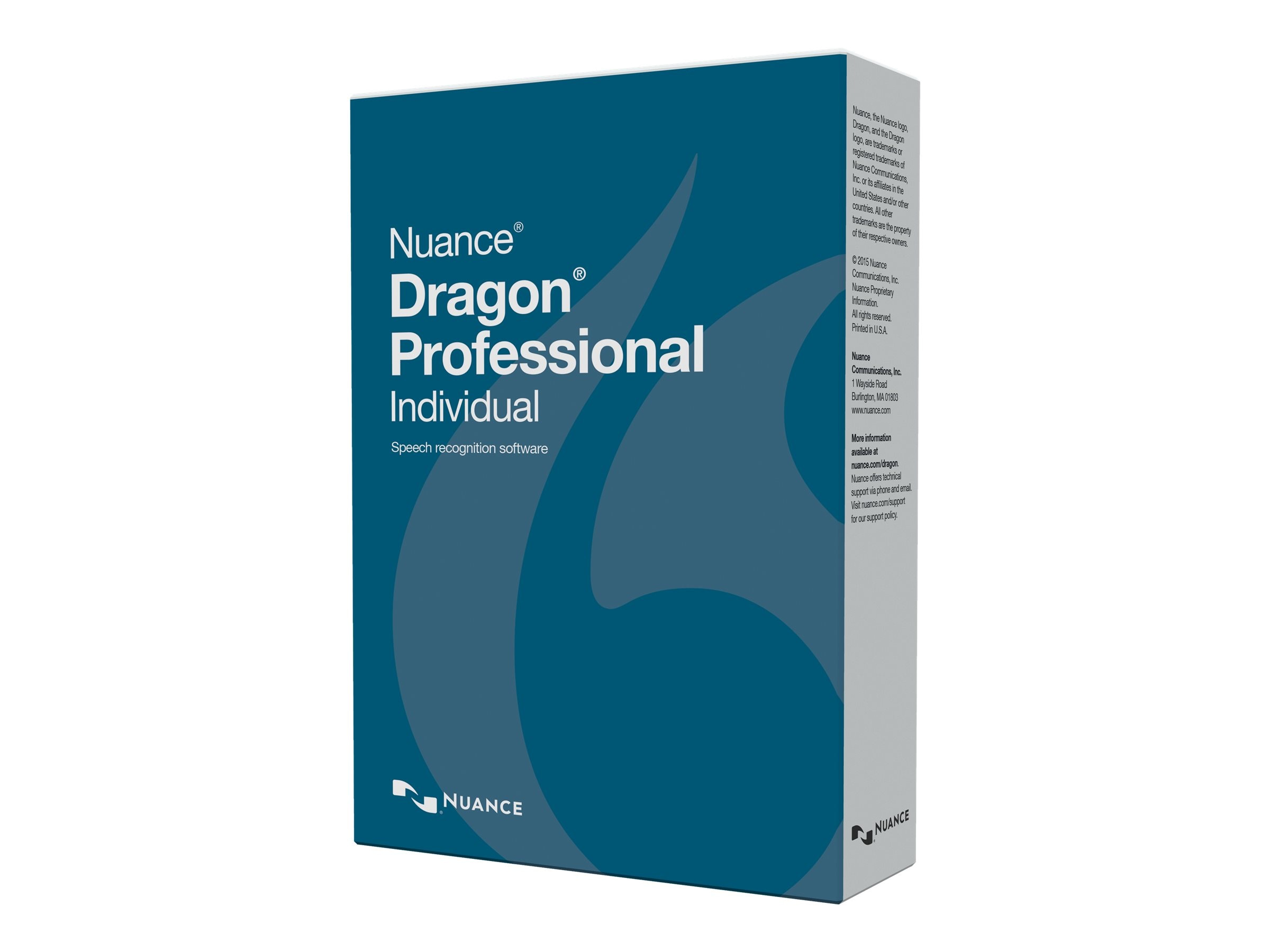 Nuance ENG DRAGON PROFESSIONAL        DVD INDIVIDUAL RETAIL, K809A-G00-14.0, 30833716, Software - Voice Recognition