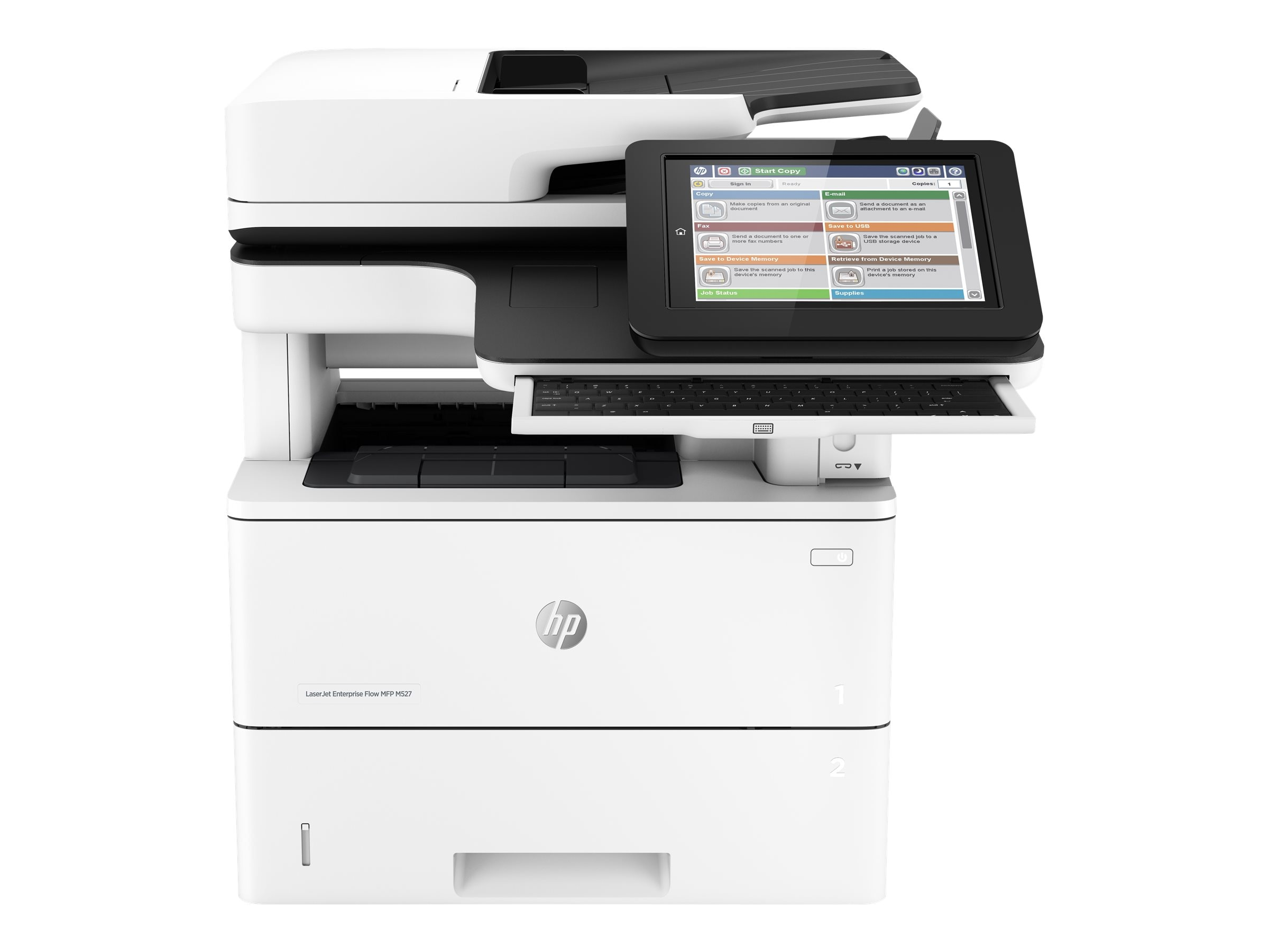 HP LaserJet Enterprise Flow MFP M527z, F2A78A#BGJ, 30778892, MultiFunction - Laser (monochrome)