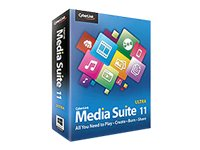 Cyberlink Media Suite Ultra 11.0 for Windows  XP Vista 7 DVD W7, MES-EB00-RPU0-00, 16060294, Software - Digital Conversion