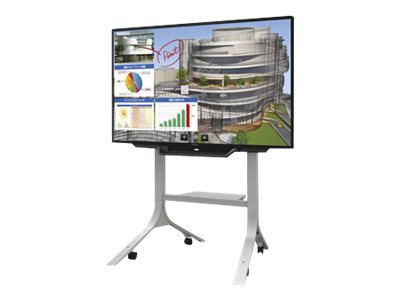 Sharp 80 PNL803C Full HD LED-LCD Display with Rolling Cart Floor Stand, PN-L803CPKG1, 30994034, Monitors - Large-Format LED-LCD