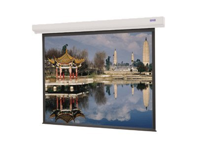 Da-Lite Designer Contour Electrol Projection Screen, Matte White, 4:3, 96, 89742, 7529951, Projector Screens