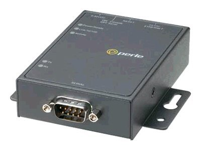 Perle IOLAN DS1 1-port Media Converter EIA 232 422 485 10 100 DB9M Connector, 04030124, 6047707, Network Transceivers