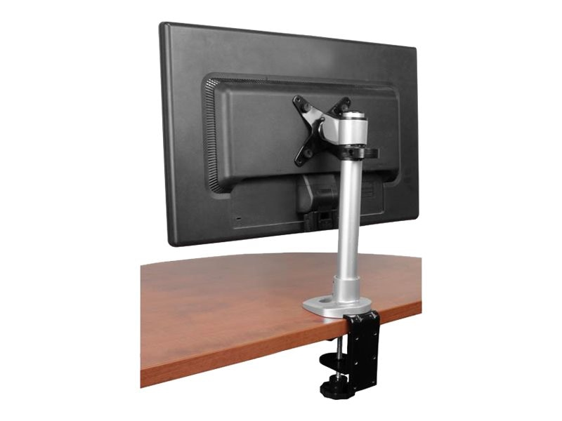 StarTech.com Height Adjustable Monitor Arm and Grommet Desk Mount with Cable Hook, ARMPIVOT