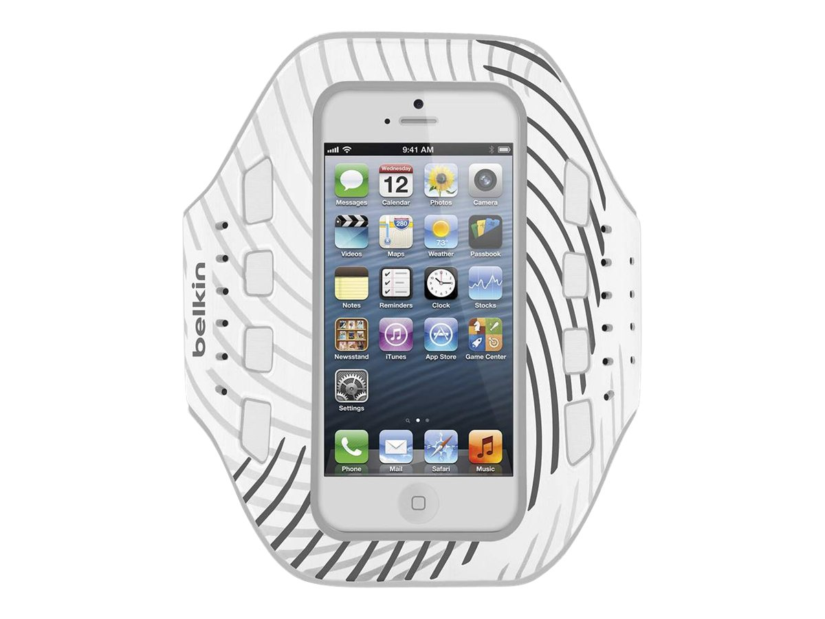 Belkin Pro-Fit Armband, Whiteout for iPhone5