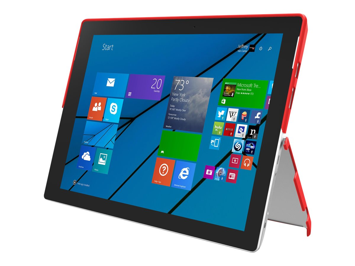 Incipio feather [Advanced] Ultra Thin Protective Case for Microsoft Surface 3, Red