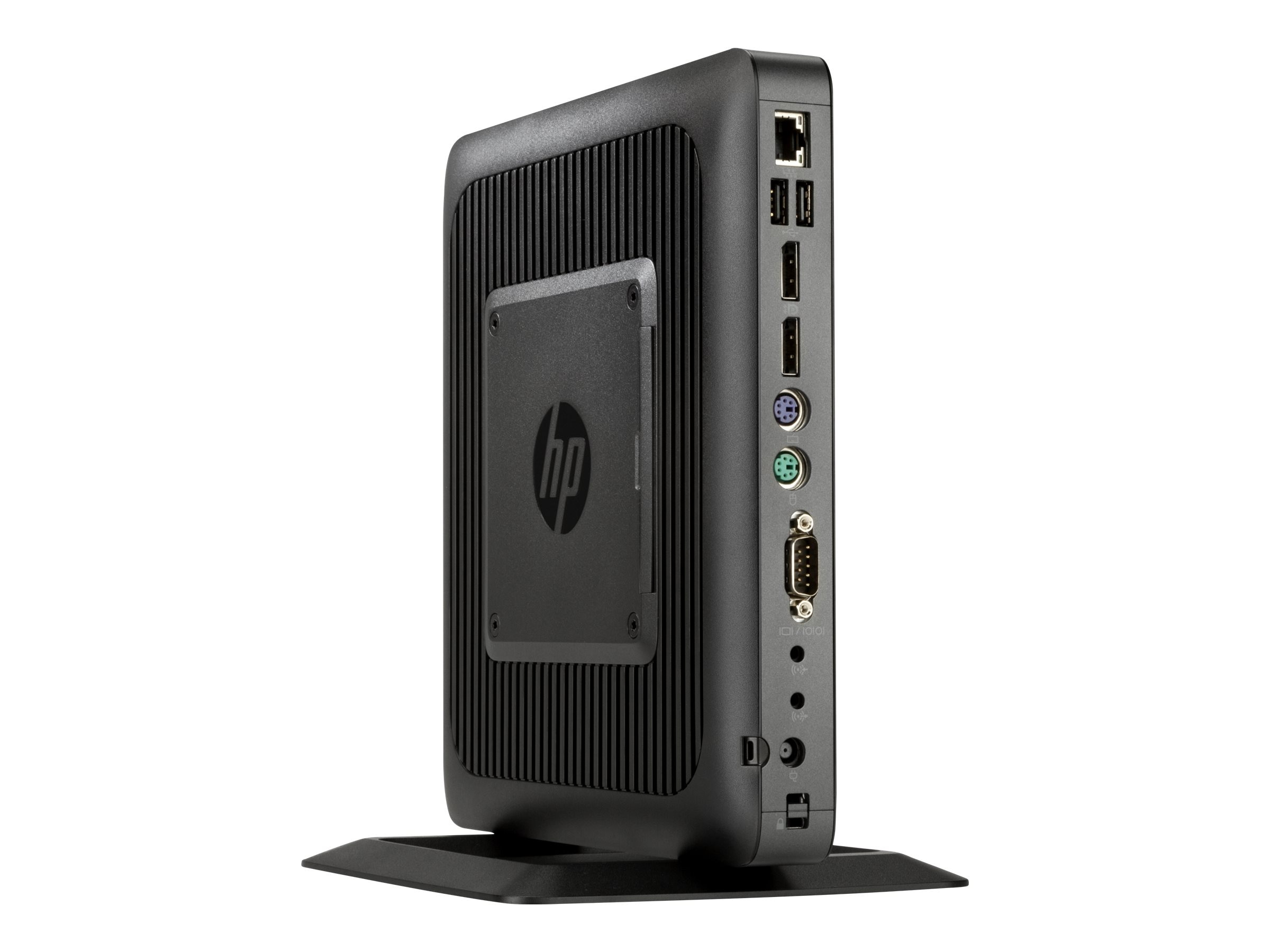 HP t620 Flexible Thin Client AMD QC GX-415GA 1.5GHz 4GB RAM 8GB Flash GbE ThinPro, G4U31UT#ABA