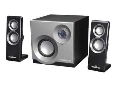 Manhattan 2.1-Channel Speaker System, 161701, 15460691, Speakers - Audio