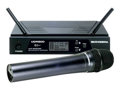 UHF Wireless Microphone System HH Mic, UHF Receiver, UDMS800HH