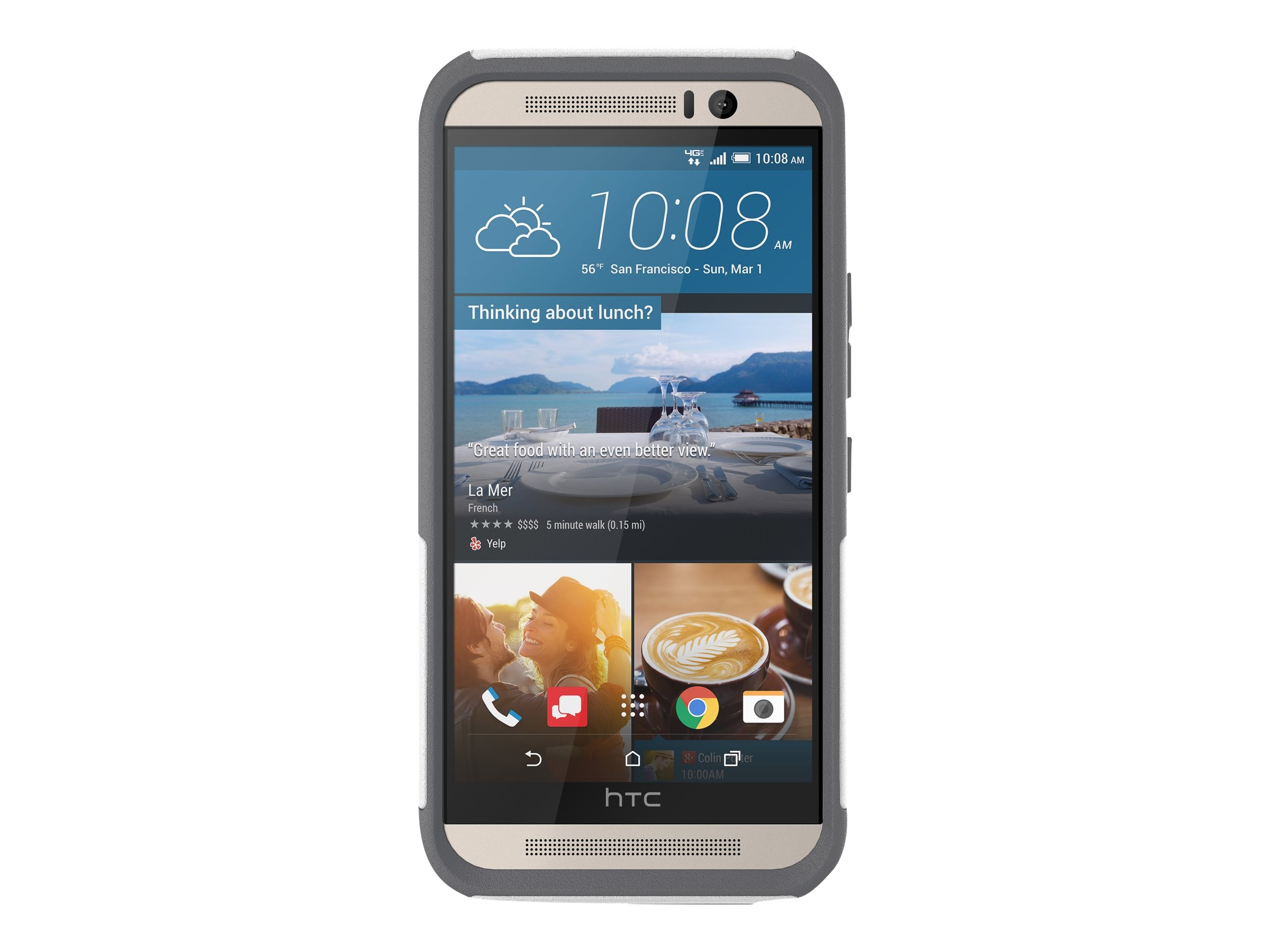 OtterBox Commuter Series Case for HTC One M9, Glacier