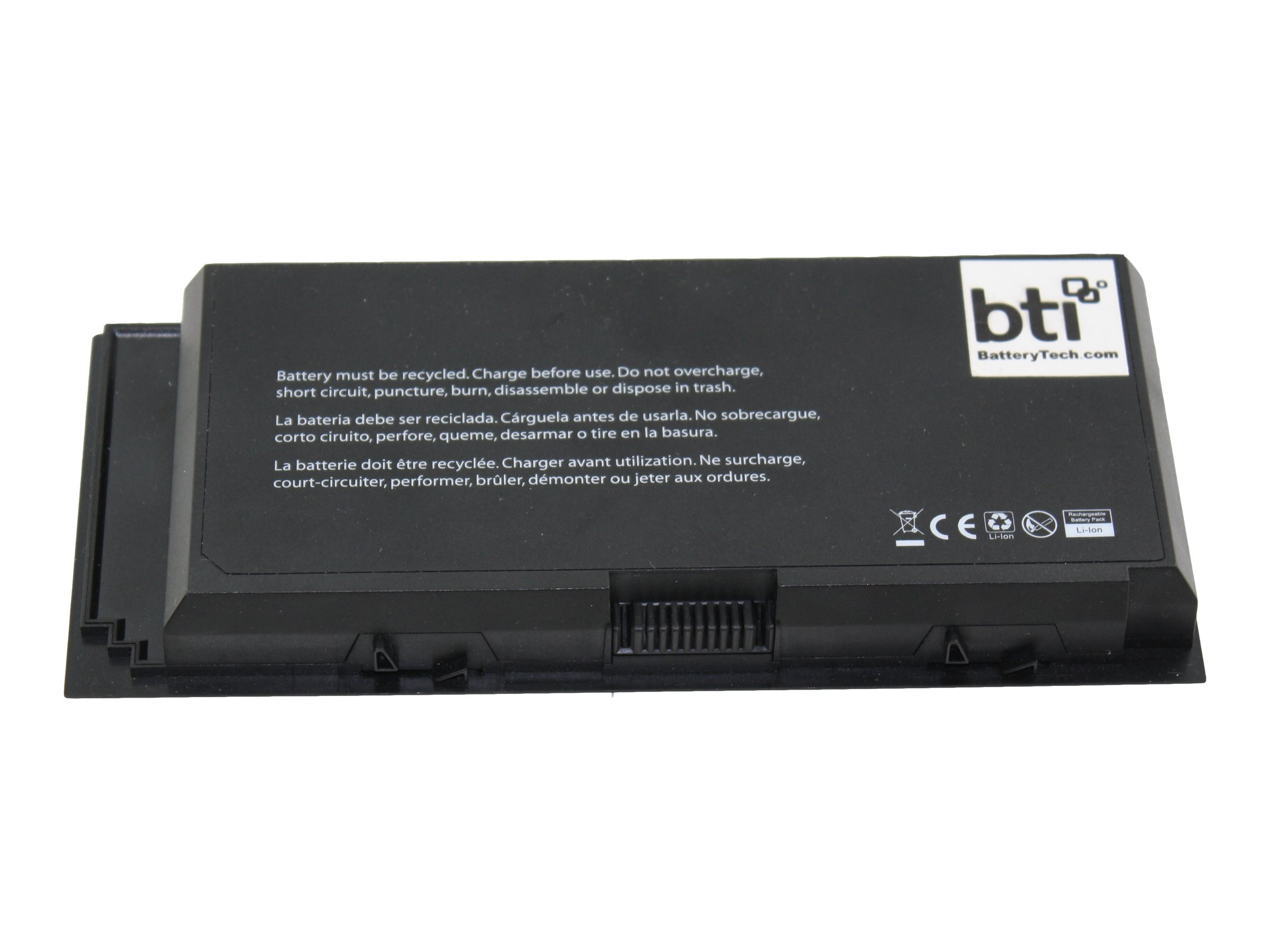 BTI 6-Cell Battery for Dell Precision M4600 312-1177 312-1178 0RTKDH 3DJH7, DL-M4600X6