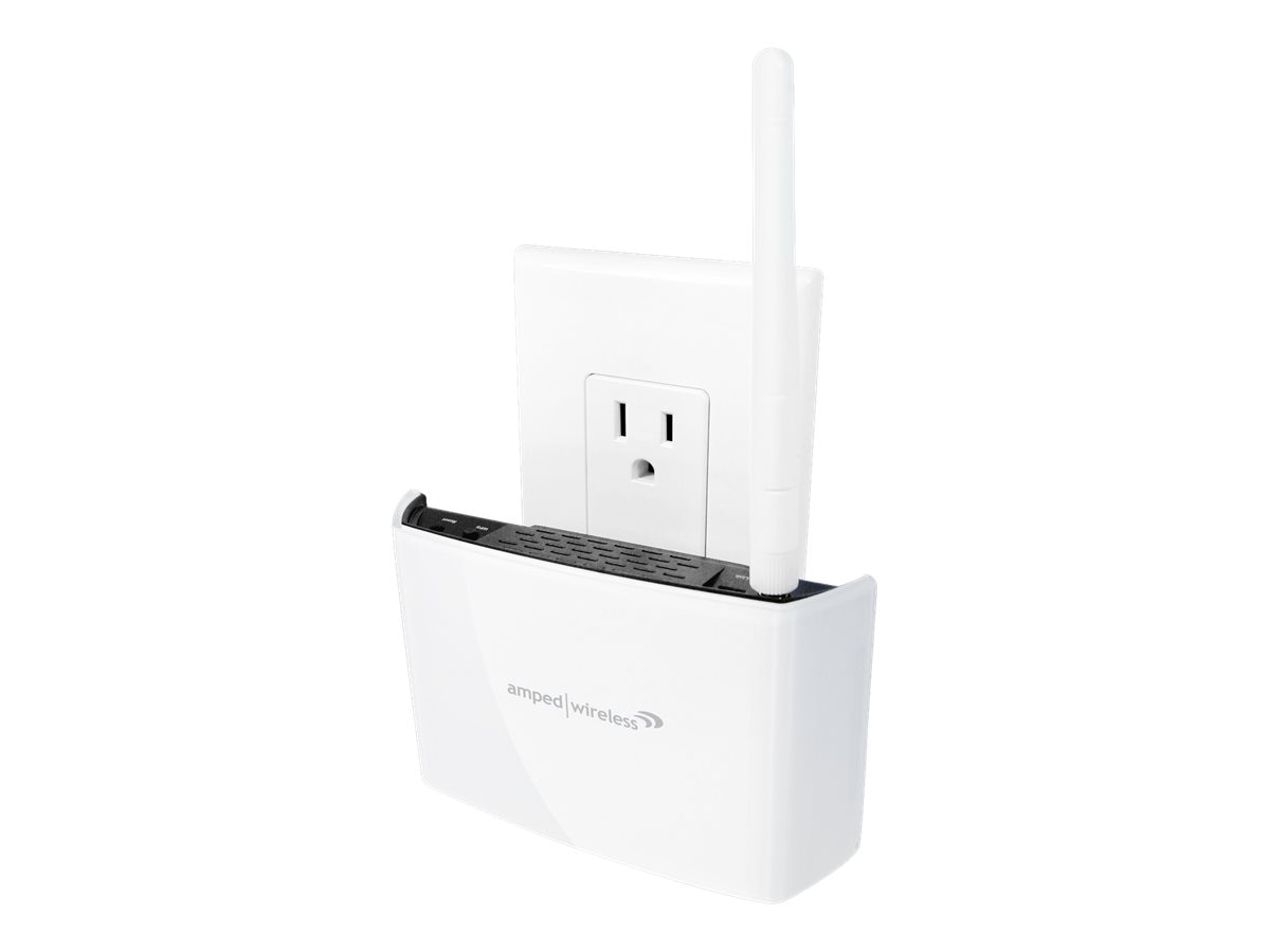 Amped Wireless High Power Compact AC Wi-Fi Range Extender, REC15A