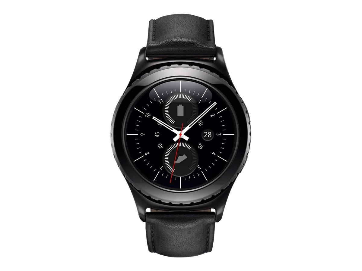 Samsung Gear S2 Classic, Black, SM-R7320ZKAXAR, 31147030, Wearable Technology