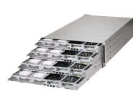 Supermicro SuperServer F617H6 4U RM 4-Node Xeon E5-2600 Family Max.512GB DDR3 12x3.5 Bays 2xPCIe 2xGbE 2x1620W, SYS-F617H6-FTL+, 15675692, Barebones Systems