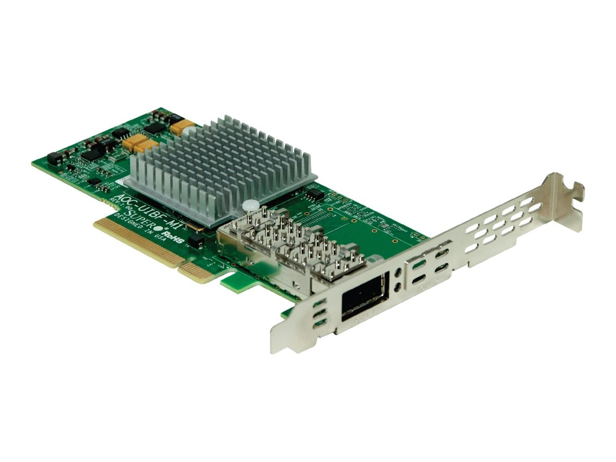 Supermicro InfiniBand FDR Adapter, AOC-UIBF-M1