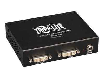 Tripp Lite 4-Port DVI over Cat5 Cat6 Extender Splitter, Video Transmitter, B140-004