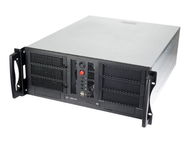 Chenbro Chassis, 4U Open-Bay Compact Rackmount, CEB, 3x5.25, 6x3.5, 7xSlots,