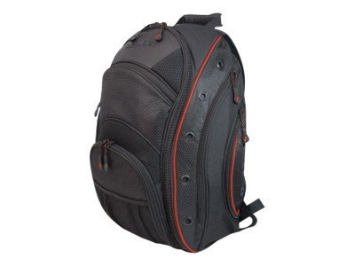 Mobile Edge EVO Laptop Backpack, Fits 16 PC, 17 Mac, Black Red, MEEVO7, 11634455, Carrying Cases - Notebook